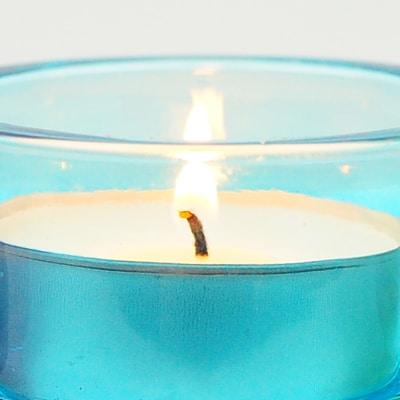 candlecloseblue