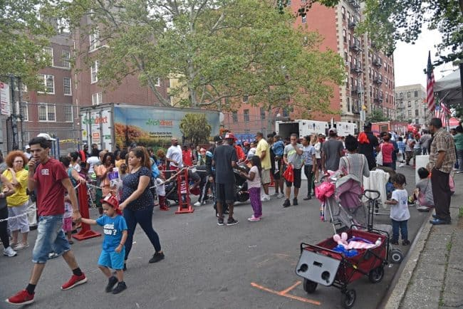 About 1200 people attended the first summer block party of 2016.